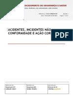 ITXBRCD.pns.012.01 Acidentes Incidentes Não Conformidades e Ação Corretiva Para Validação OK CAROL OK CRIS27.07 OK RE28.05