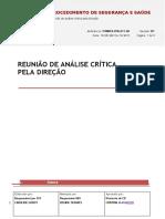ITXBRCD.pns.011.00 Reunião de Análise Crítica Pela Direção Falta Definir o n Da Ata de Analise Critica