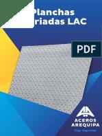Hoja Técnica Planchas Estriadas LAC