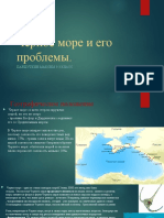 Экология черного моря и как его спасти
