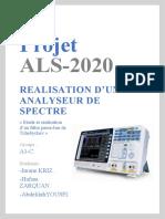 Projet ALS 202