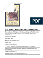 Tom Browns School Days