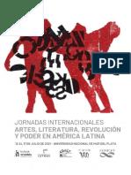 3° Circular Jornadas Artes, literaturas, revolución y poder en América Latina