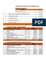Total costs for transmission component