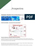 Prospectiva _ Proseres Prospectiva Estrategica