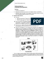 Instruccione Especificas Para La Aplicación y Corrección