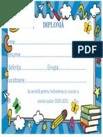 Diploma- Final de Gradinita