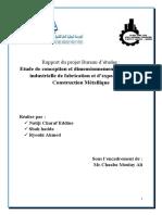 rapport du projet Construction Métallique VF 8