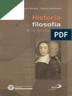 Reale & Antiseri - Historia de La Filosofía. 4. de Spinoza a Kant