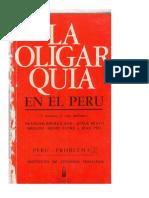 2. La oligarquía en el Perú - Bourricaud, Bravo Bresani, Henri Favre y Jean Piel (1969)