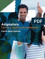 Carta Descriptiva Ciencia y Técnica con Humanismo 20-3