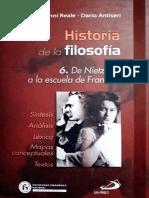 Reale & Antiseri - Historia de La Filosofía. 6. de Nietzsche a La Escuela de Frankfurt