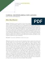 Boyd-Barrett - National and international news agencies