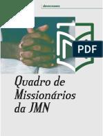 Quadro Mission á Rio 2019