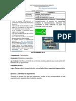 Guía 4. Lengua Castellana Informacion y Lectura