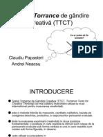 TTCT cretivitate