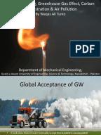 An essay on global warming school