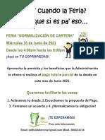 Campaña6. Normalizacion de pagos