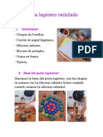 Porta Lapicero Reciclado