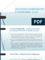 Tecnologias Emergentes en La Ingenieria Civil