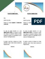 REGISTRO DE AMONESTACION