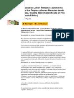 El Manual de Jabón Artesanal_ Aprende Ha Hacer Tus Propios Jabones Naturales Desde Tu Casa, Elabora Jabon Saponificado en Frio (Spanish Edition)