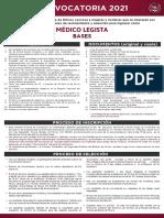 Médico Legista Fiscalía General de Justicia del Edomex 2021