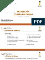 Presentación Día 2. Prevención contra incendios LUME