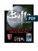 d6 System-Buffy the Vampire Slayer