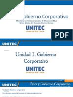 Unidad 1. Gobierno Corporativo