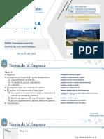 2-Organización Industrial - Teoría de La Empresa