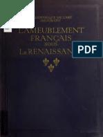 l Ameublement Français Sous La Renaissance