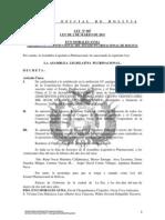 Ley 087 Apruebase Contrato de Prestamo con el Banco de Desarrollo de China para Financiar el Proyecto Satelite de Comunicaciones Tupak Katari