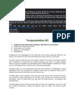 TEXTPRODUKTION B1-C1