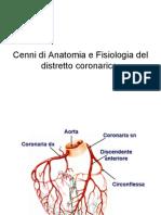 Cenni Di Anatomia e Fisiologia Del Distretto Corona Rico