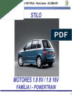 Fiat Stilo Motores 8V e 16V