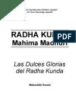 RADHA KUNDA Mahima Madhuri