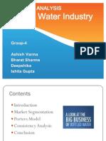 Bottled Water Industry