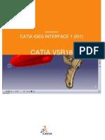 CATIA IGES INTERFACE 1 (IG1)
