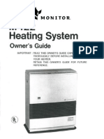 MPI Monitor 422 Heater Manual
