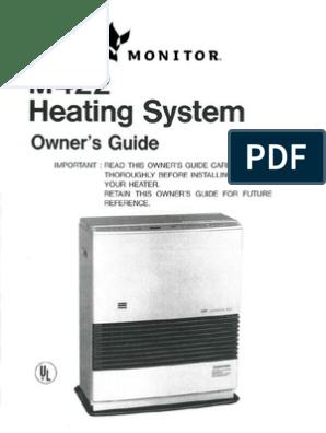 Mpi Monitor 422 Heater Manual Pipe Fluid Conveyance Kerosene