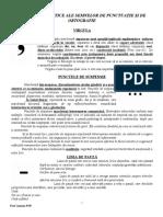 Rolul Semnelor Ortografice Si de Punctuatie