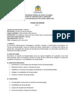 Plano de Ensino - Estudos da Interpretação I - LSB9028