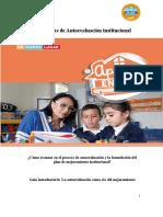 La Autoevaluación vía para el mejoramiento educativo PMI