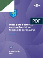 Dicas para o Setor de Construção Civil em Tempos de Coronavírus