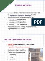 CIV342 - Lecture 03 - Treatment Overview