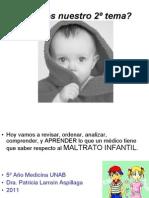 2 Maltrato Infantil 2011