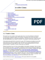Conceitos básicos sobre Linux