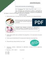 Matematica 5 basico diferenciada