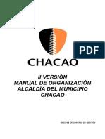Manual de Organizacion Chacao